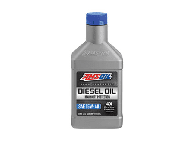 amsoil heavy duty synthetic diesel oil 15w 40 fire line. Black Bedroom Furniture Sets. Home Design Ideas