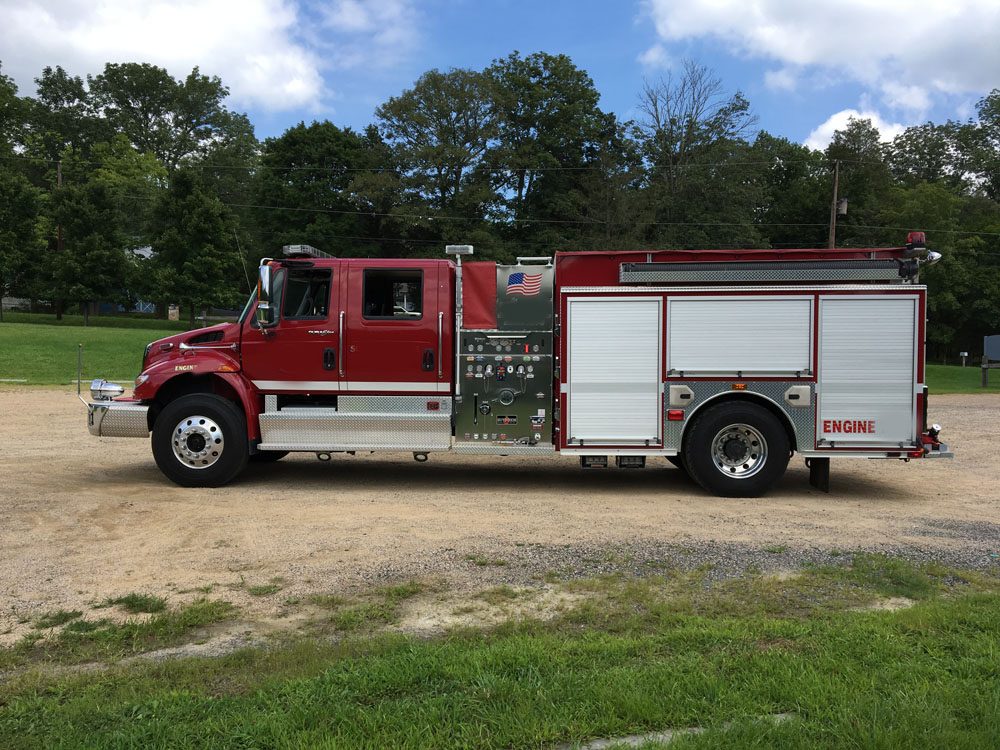 new fire truck delivery